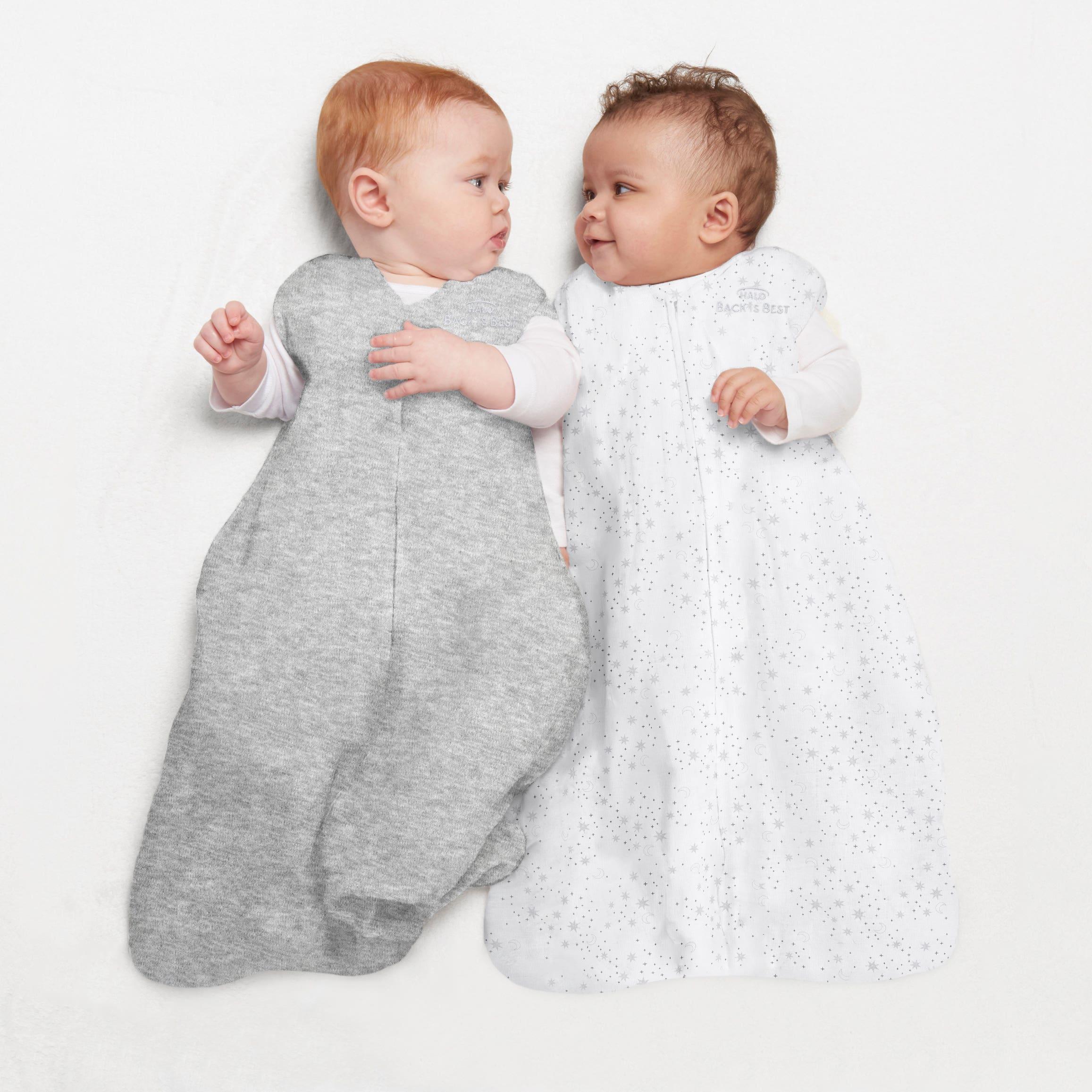 babies in halo sleepsacks