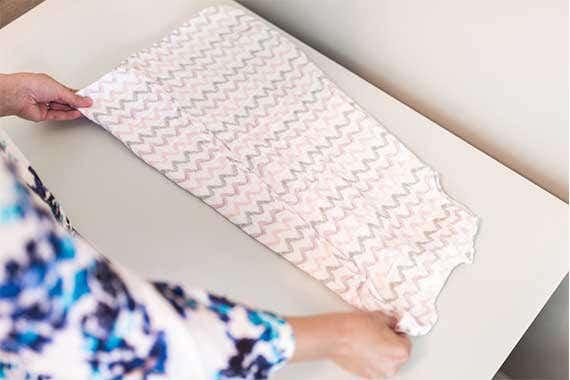 How to fold HALO SleepSack Sleeping Bag Step 1