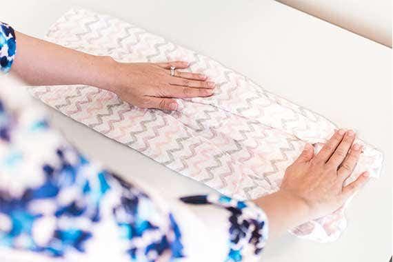 How to fold HALO SleepSack Sleeping Bag How to Fold Step 2